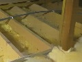 Теплоиззоляция потолка.