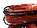 Теплый пол на основе электрических кабелей.