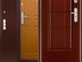 Установка металлической двери.